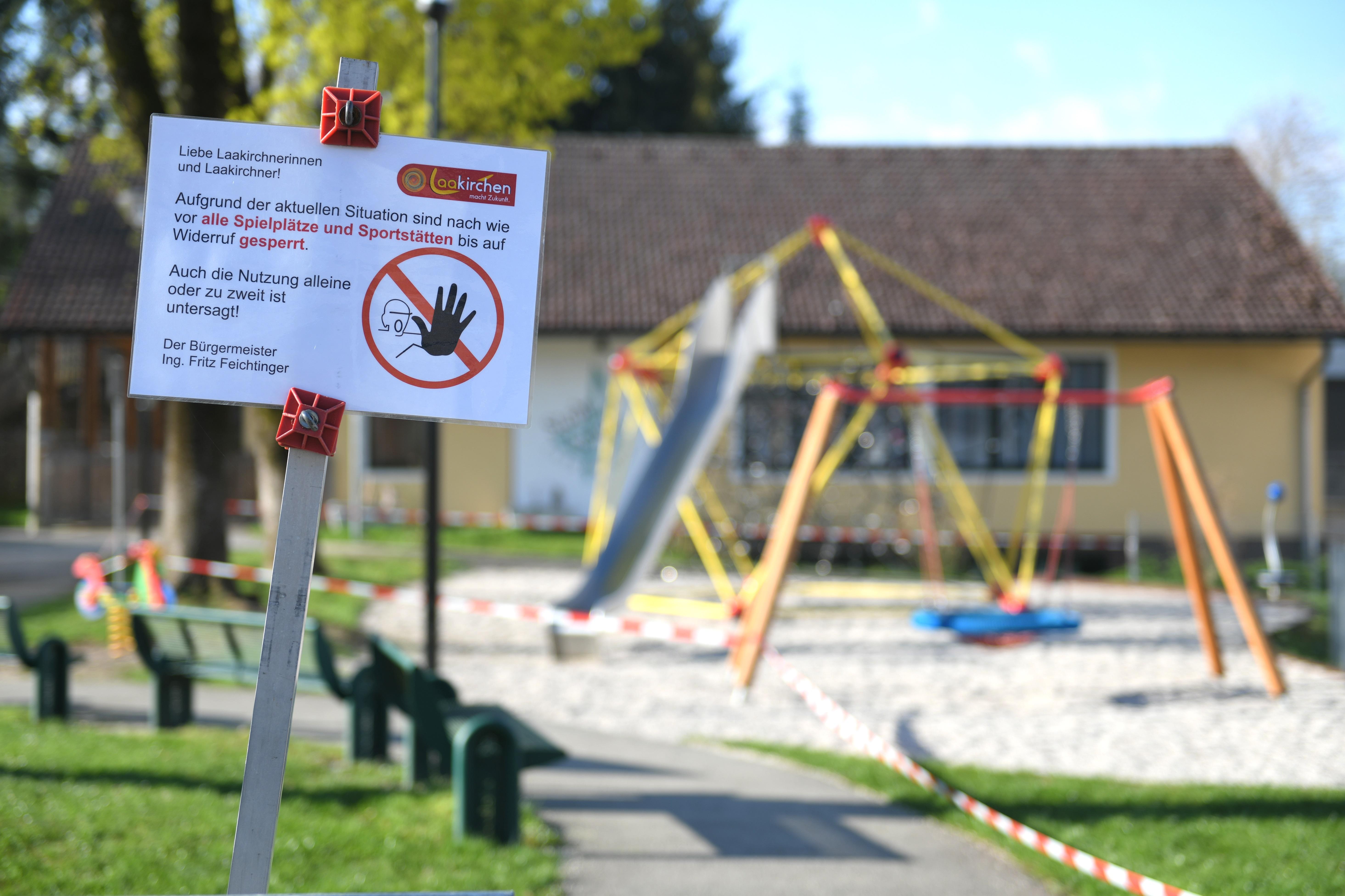 Alltag in Corona-Zeiten: geschlossene Spielplätze und Kindertagesstätten (Foto: Pixabay)
