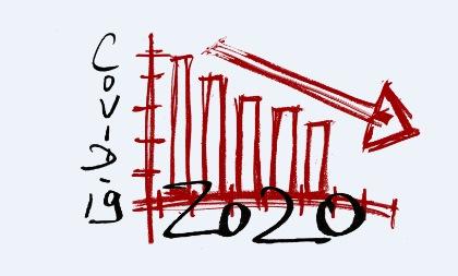 Mit Corona kommt die Rezession. Die Frage ist, wie stark die Wirtschaft abfällt und wie lange die Talsohle anhält (Foto: Pixabay)