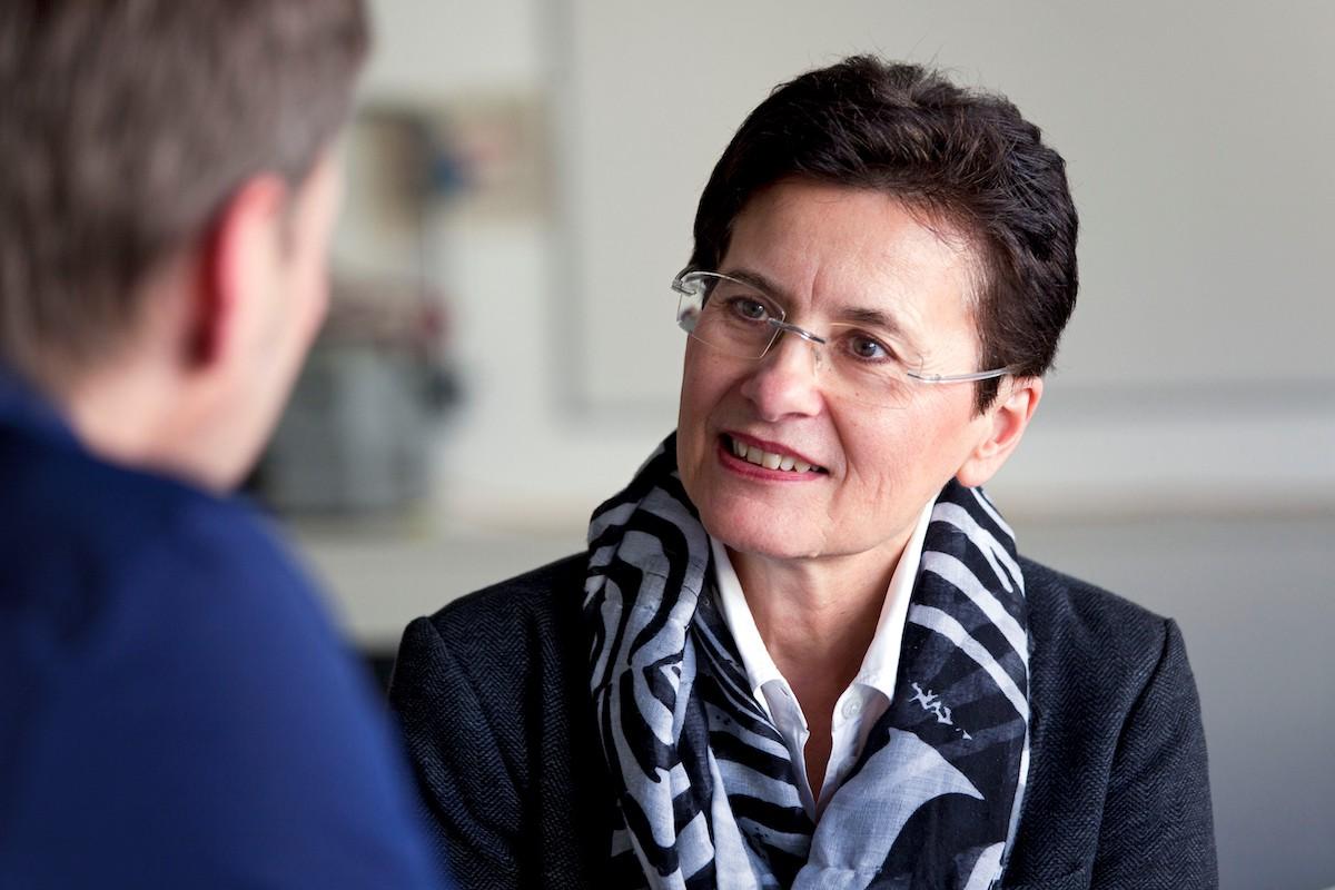 Prof. Dr. Gisela Kammermeyer (Foto: Henriette Kriese)