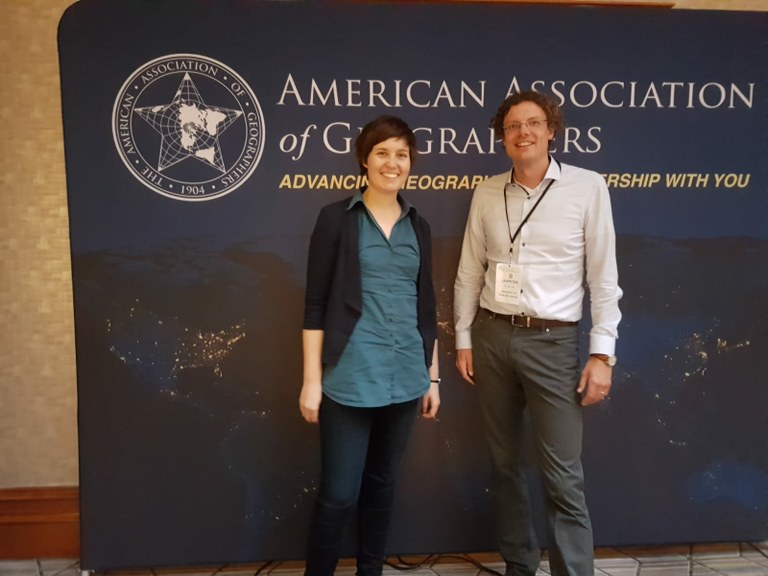 Friedensakademie auf dem Annual Meeting of the American Association of Geographers (AAG)