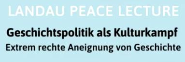 Im Nachgang der Landau Peace Lecture: Interview mit Michael Sturm auf dem Blog des Freundeskreis Hambacher Fest 1832