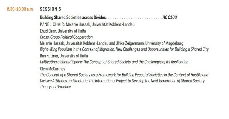 Building Sustainable Peace: Ideas/Evidences/Strategies