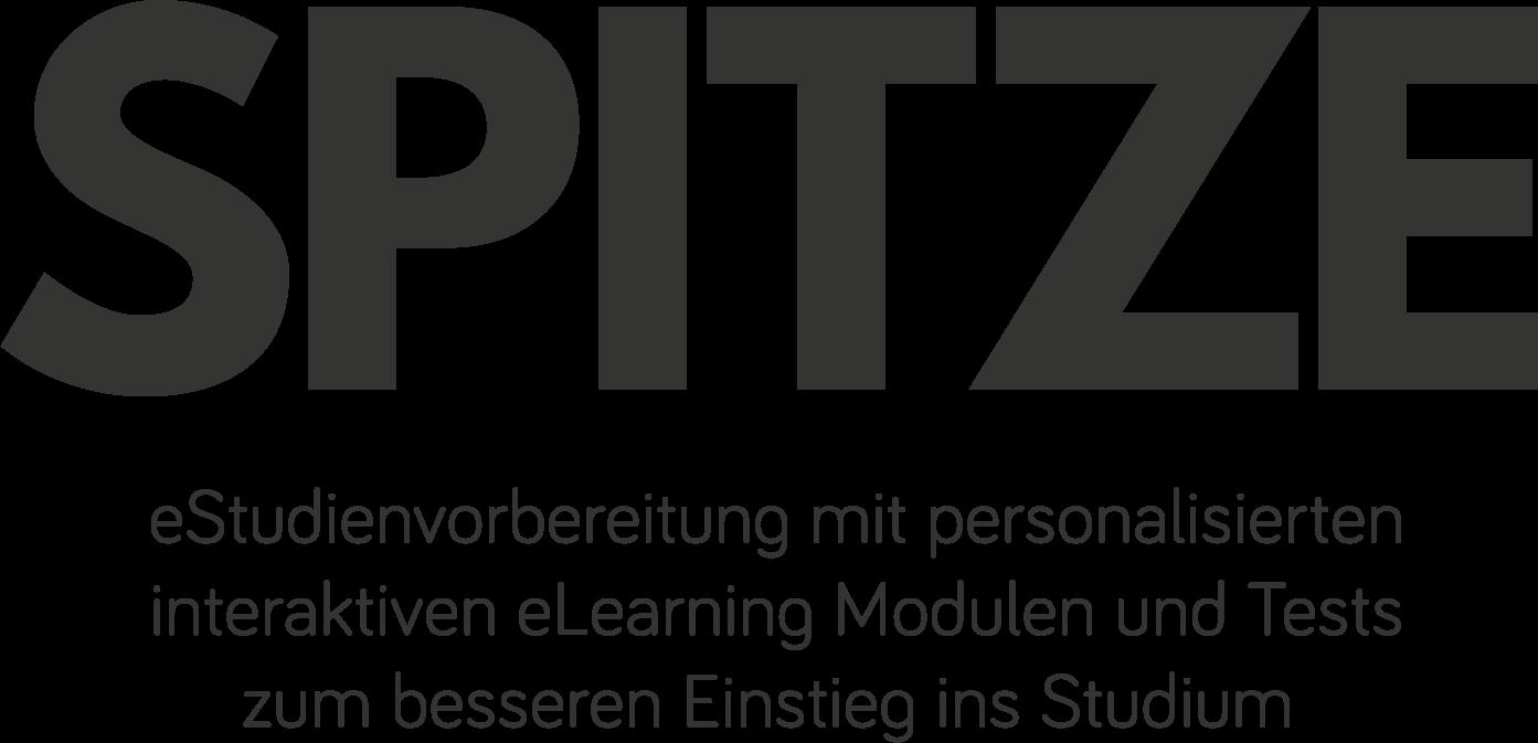 SPITZE: eStudienvorbereitung mit personalisierten interaktiven eLearning Modulen und Tests zum besseren Einstieg ins Studium