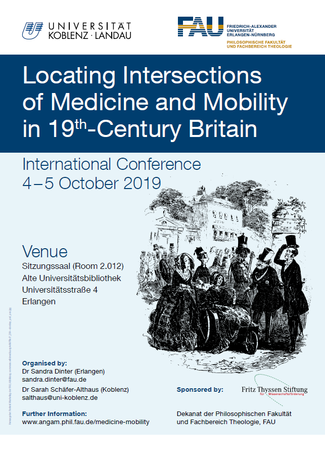 Locating Intersections of Medicine and Mobility in 19th-Century Britain Poster