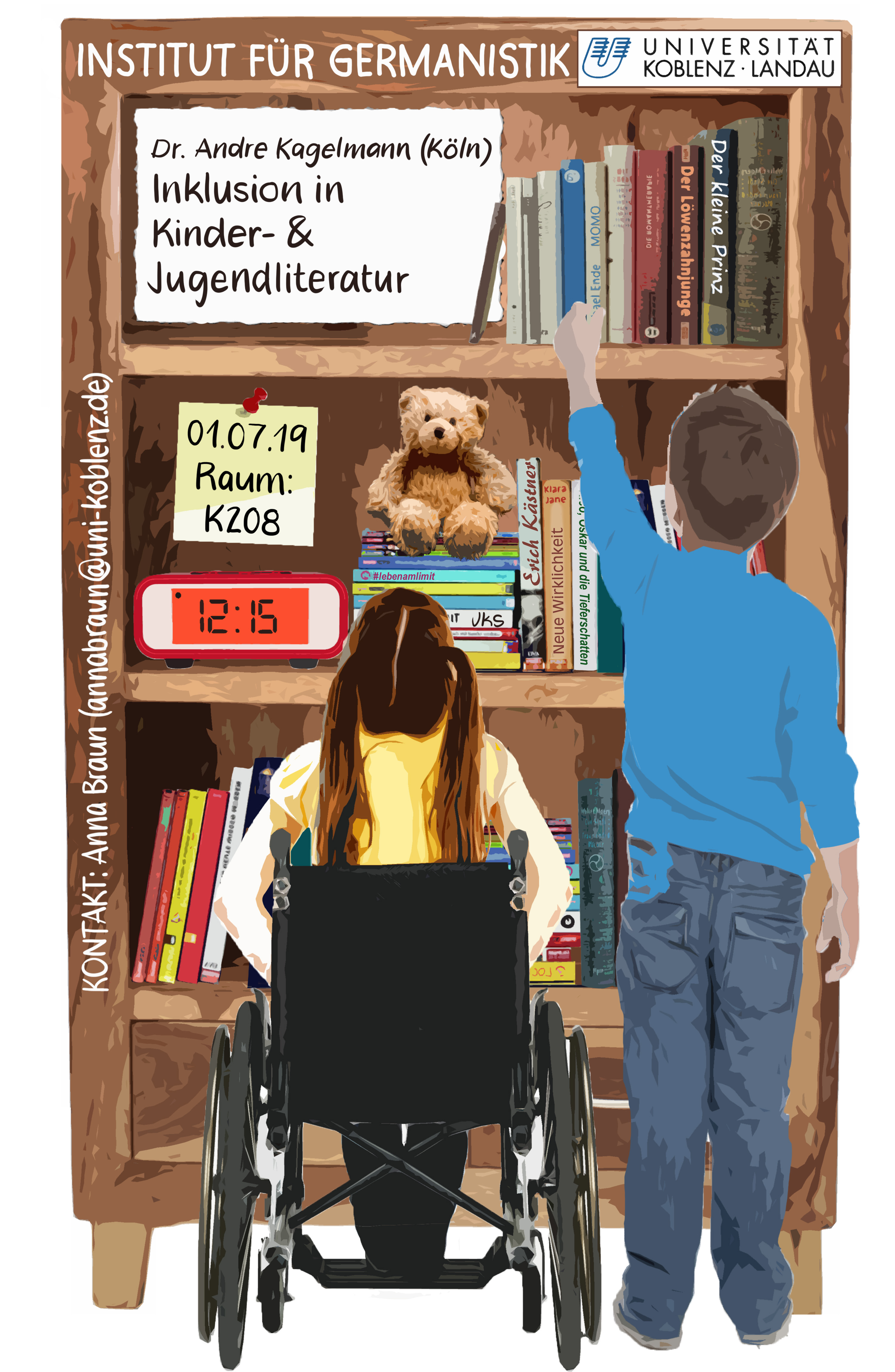 Vortrag /Inklusion in Kinder- >> und Jugendliteratur /von Dr. Andre Kagelmann
