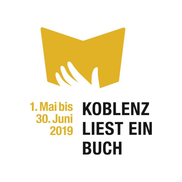 Koblenz liest ein Buch Logo