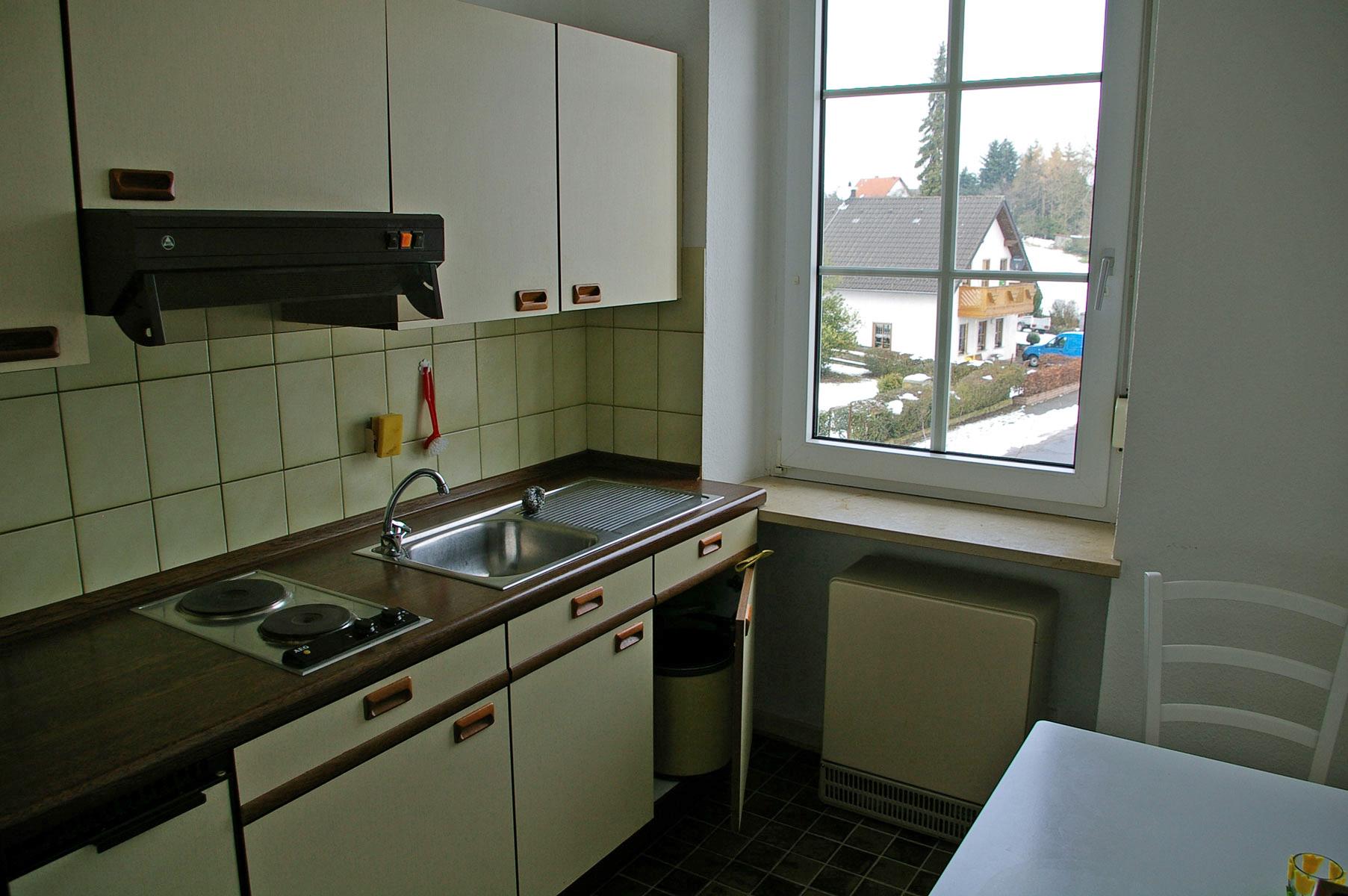 Küche Studentenappartement
