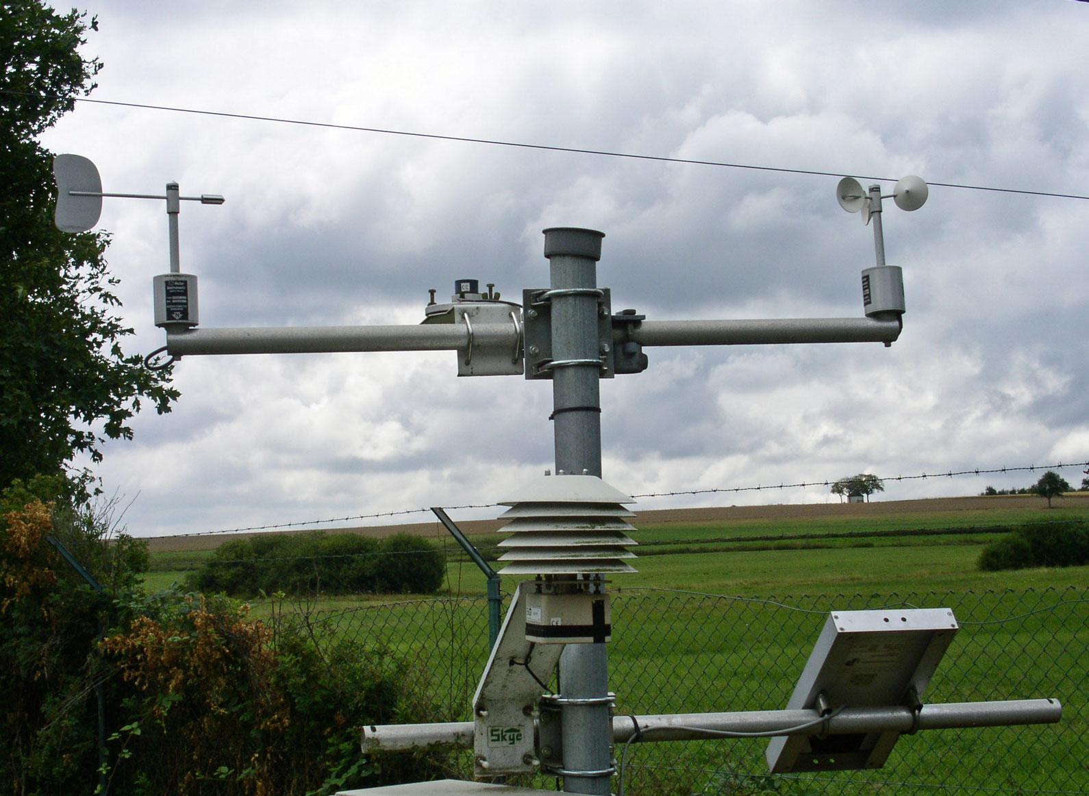 Sensoren Wetterstation