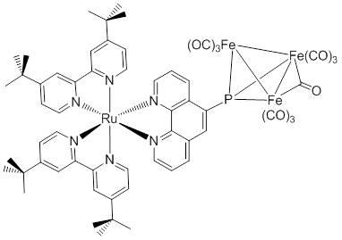 Ru-Fe-Cluster