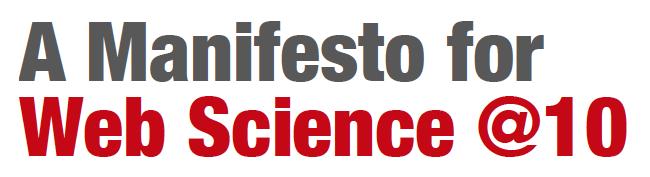 Southampton University, RPI und WeST veröffentlichen Web-Science-Manifest