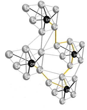 Abbildung: einzelnen Zimmern zugeordnete Cluster