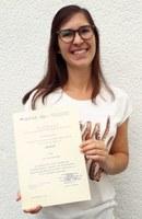 Verleihung Urkunde Frau Detemple
