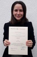 Urkunde Hanna Gurlin