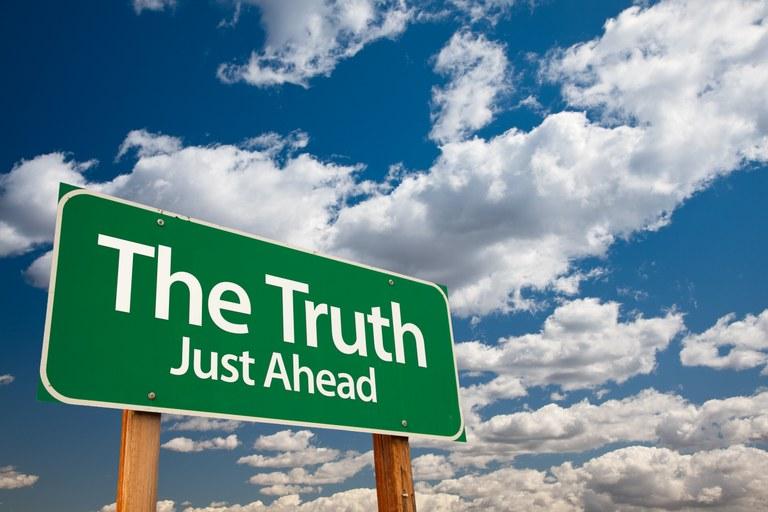 Truth ahead - Quelle: Colourbox, #9913564