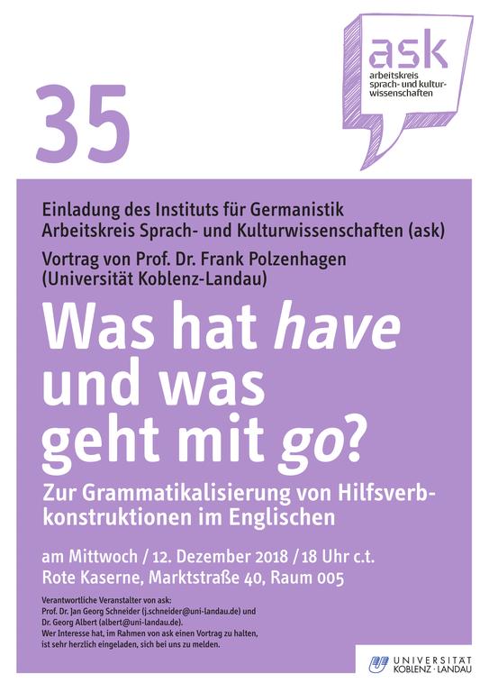ask Vortrag von Prof. Dr. Frank Polzenhagen