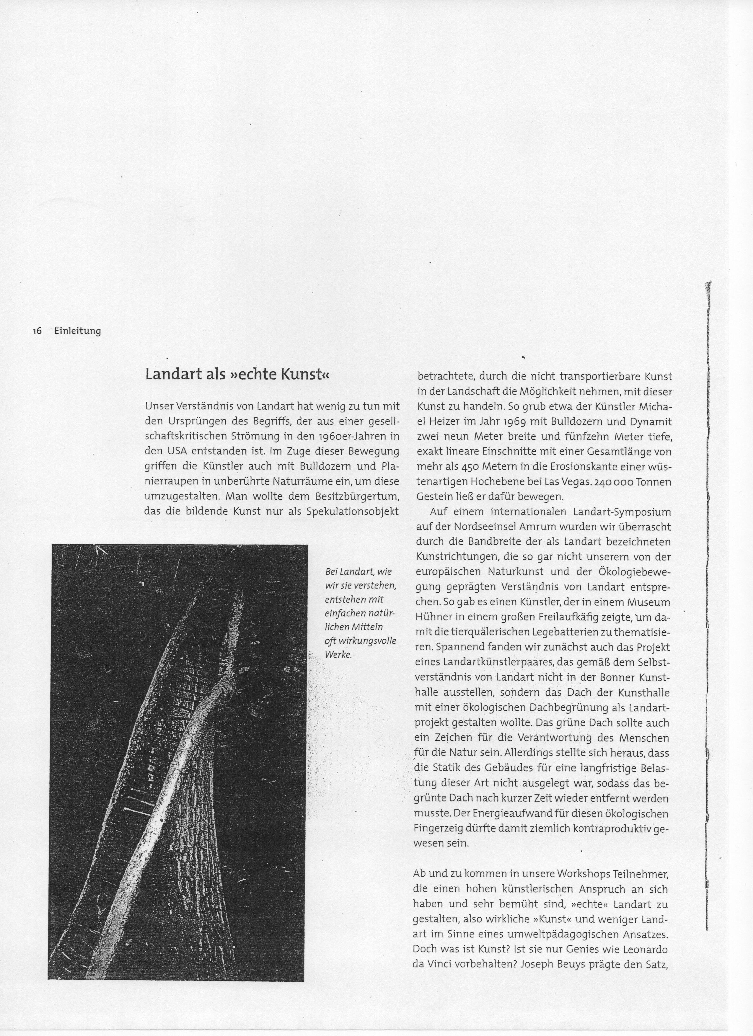 Erlebniswerkstatt Landart — Universität Koblenz · Landau