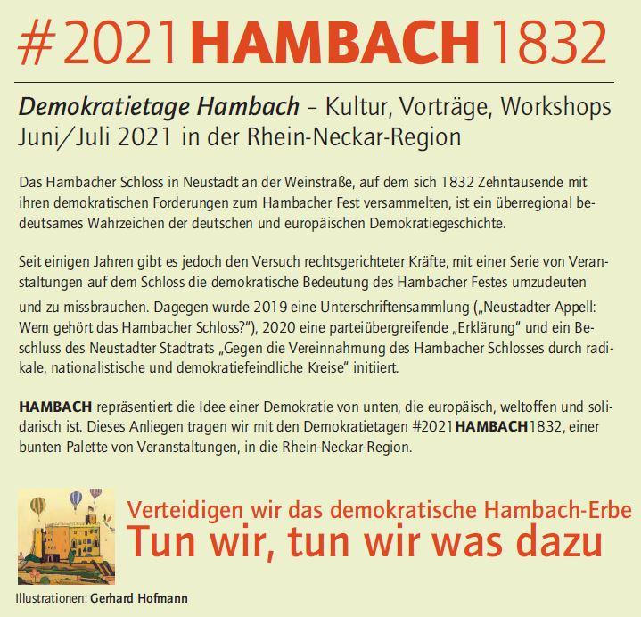 Demokratietage Hambach