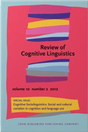 Cognitive Sociolinguistics: Linguistic…2012.