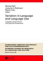 Variation in Language and Language Use