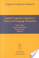 Applied Cognitive Linguistics I. Vol. 1. 2001a.