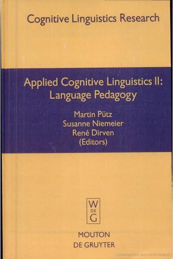 Applied Cognitive Linguistics 2