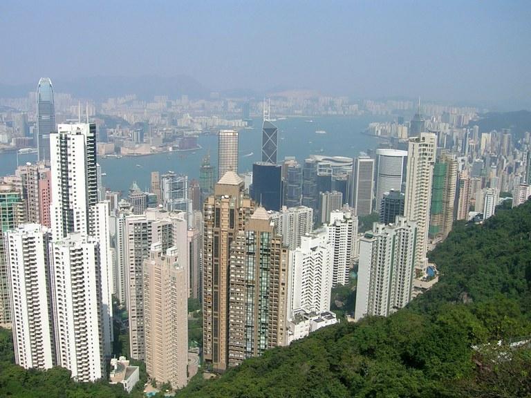 Homg Kong 1 Skyline