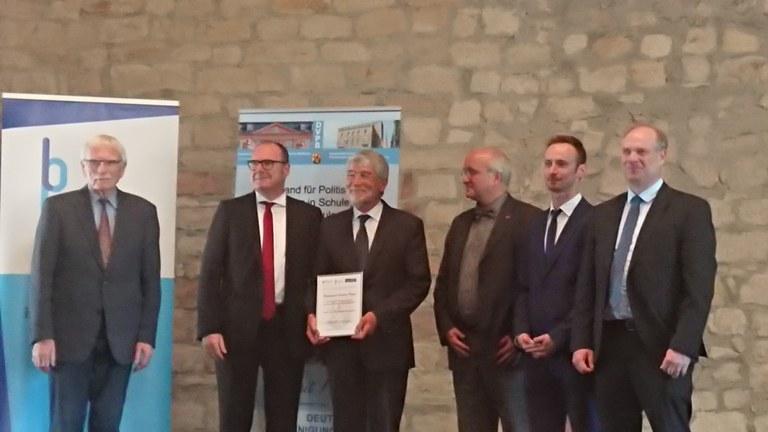 Bernhard-Sutor-Preis 2019 für Herrn Prof. Dr. em. Ulrich Sarcinelli