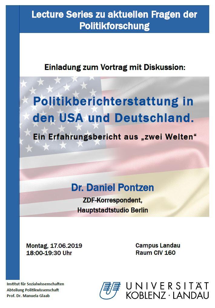 Gastvortrag von Dr. Daniel Pontzen