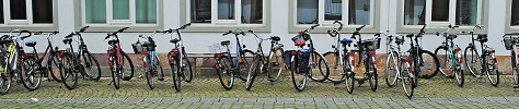 Fahrräder (c) Cora Rapp