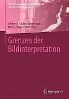 Cover Grenzen der Bildinterpretation