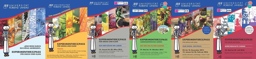 Experimentierpass 1-6