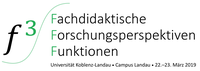 f³ - Fachdidaktische Forschungsperspektiven Funktionen