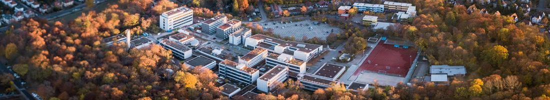Luftbild Campus