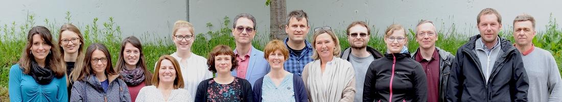 Gruppenfoto Institut für Mathematik
