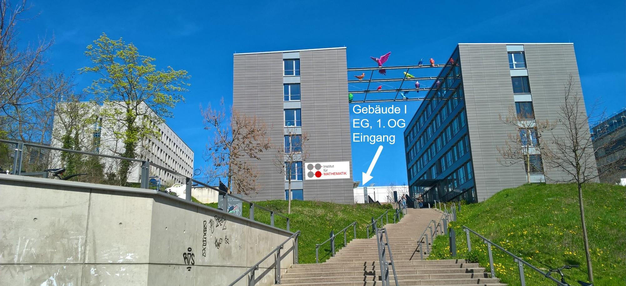 Foto des Institutsgebäudes