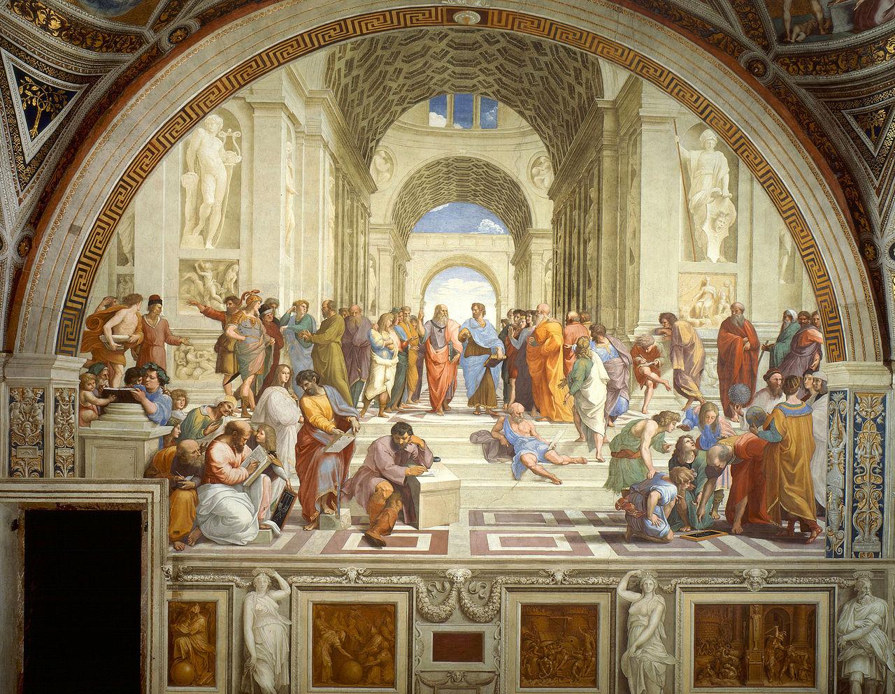 Escuela de Athenas