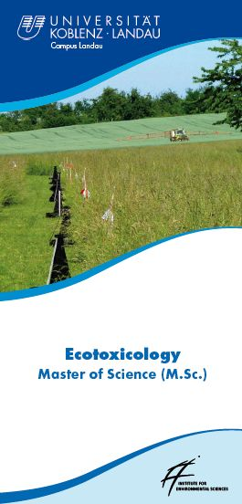 Flyer MSc Ecotoxicology