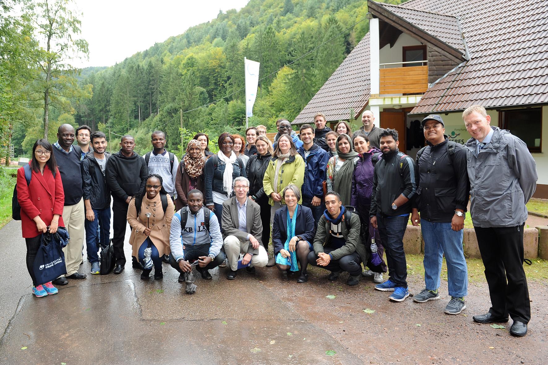 Gruppenbild Teilnehmer der internationalen Summerschool Ecotoxicology