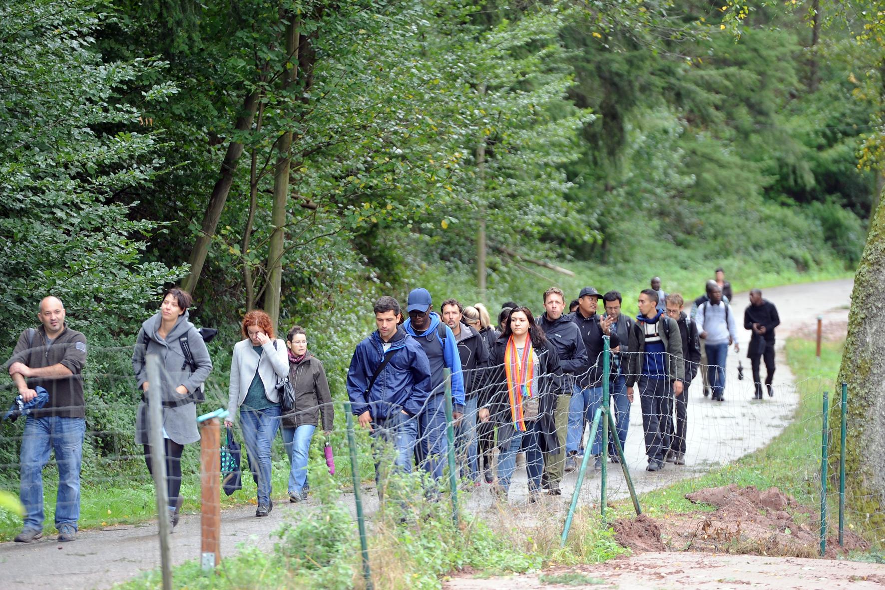 Teilnehmer der internationalen Summerschool Ecotoxicology