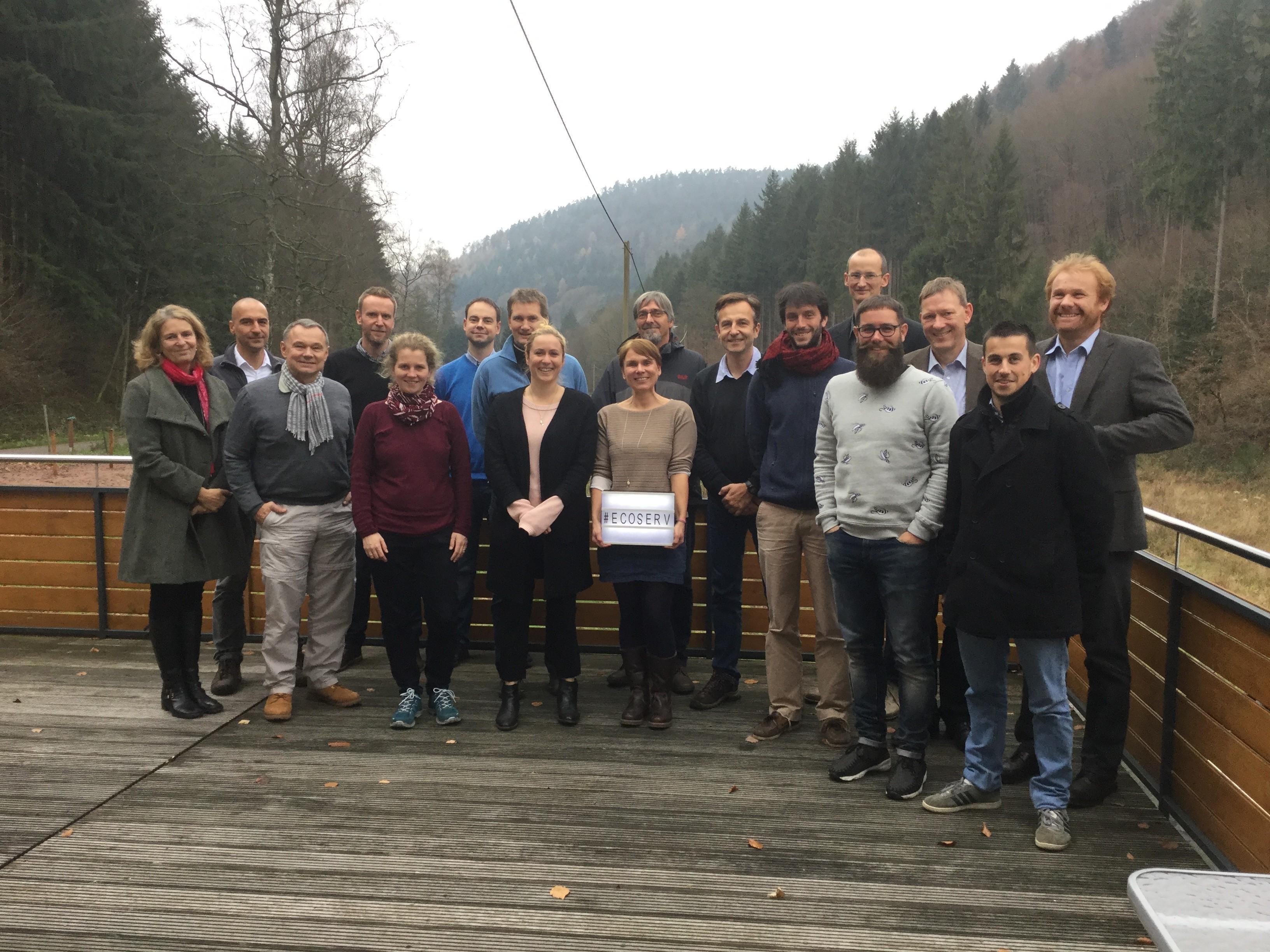 Teilnehmer Ecoserv Projekttreffen