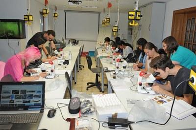 Seminarraum mit Studenten 2
