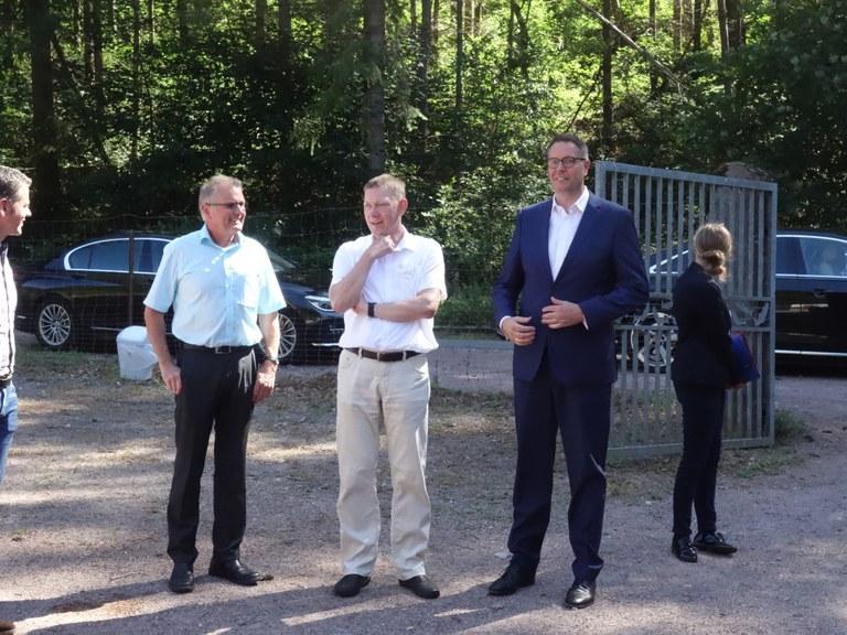 Ankunft des SPD-Fraktionsvorsitzenden