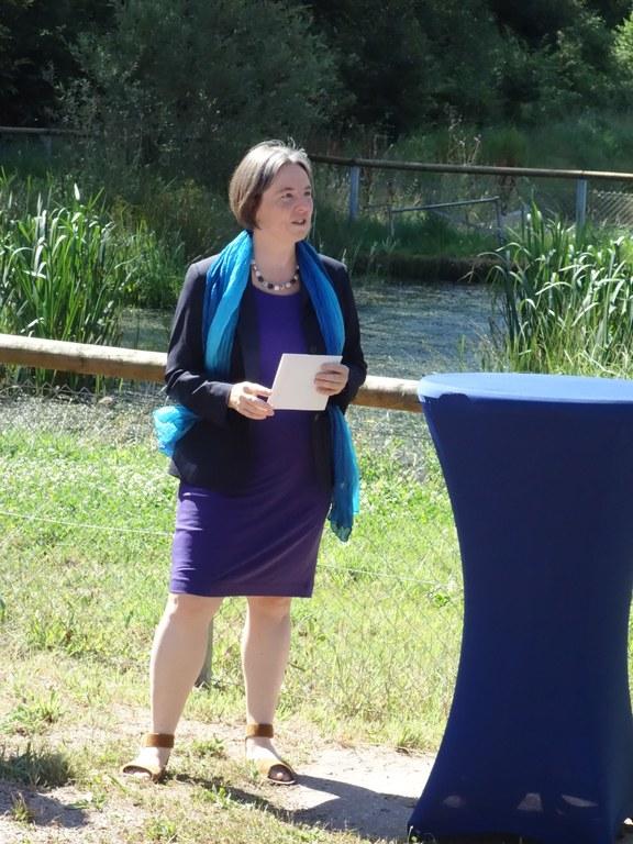 Begrüßung durch die Vize-Präsidentin Frau Prof. Dr. Schaumann