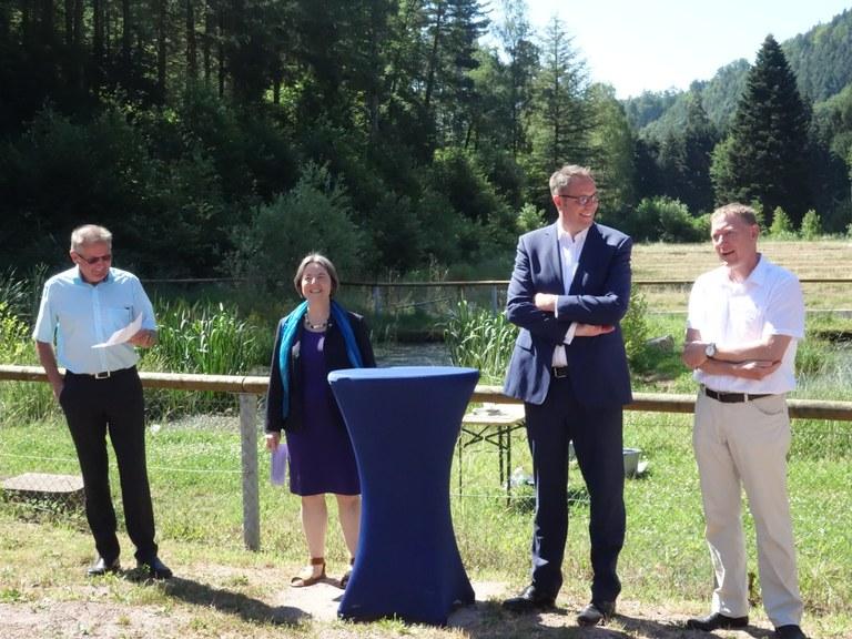 Begrüßung durch den Beigeordneten Herrn Kiefer als Vertreter der VG Annweiler