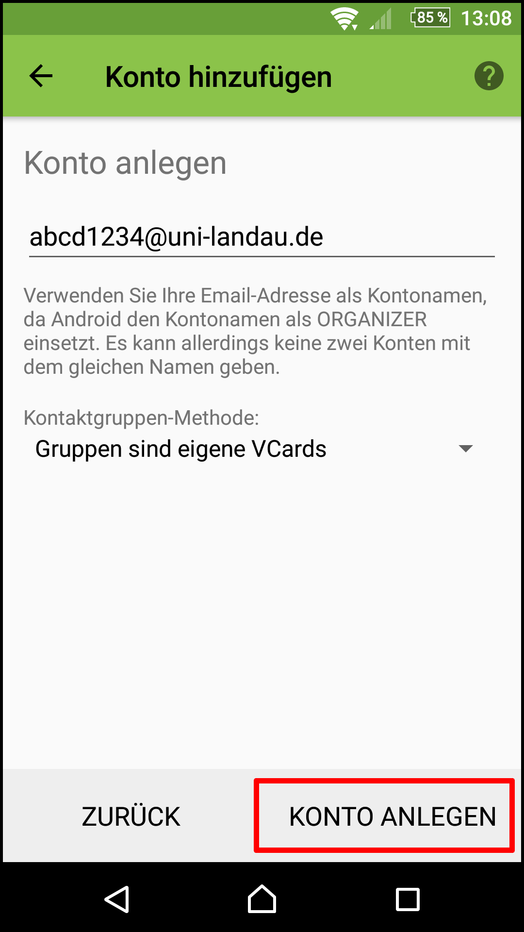 Mail Sogo andphone davdroid 005