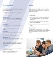 Faltblatt DinA lang vierseitig - Seite 2