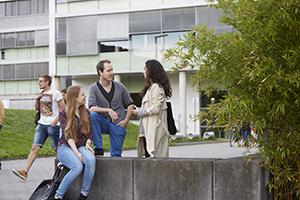 Studierende am Campus Koblenz
