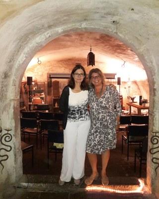Francesca Vidal und Evi Julier