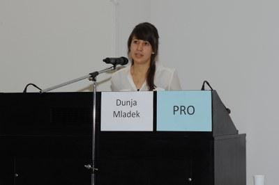 Frau Dunya Mladek