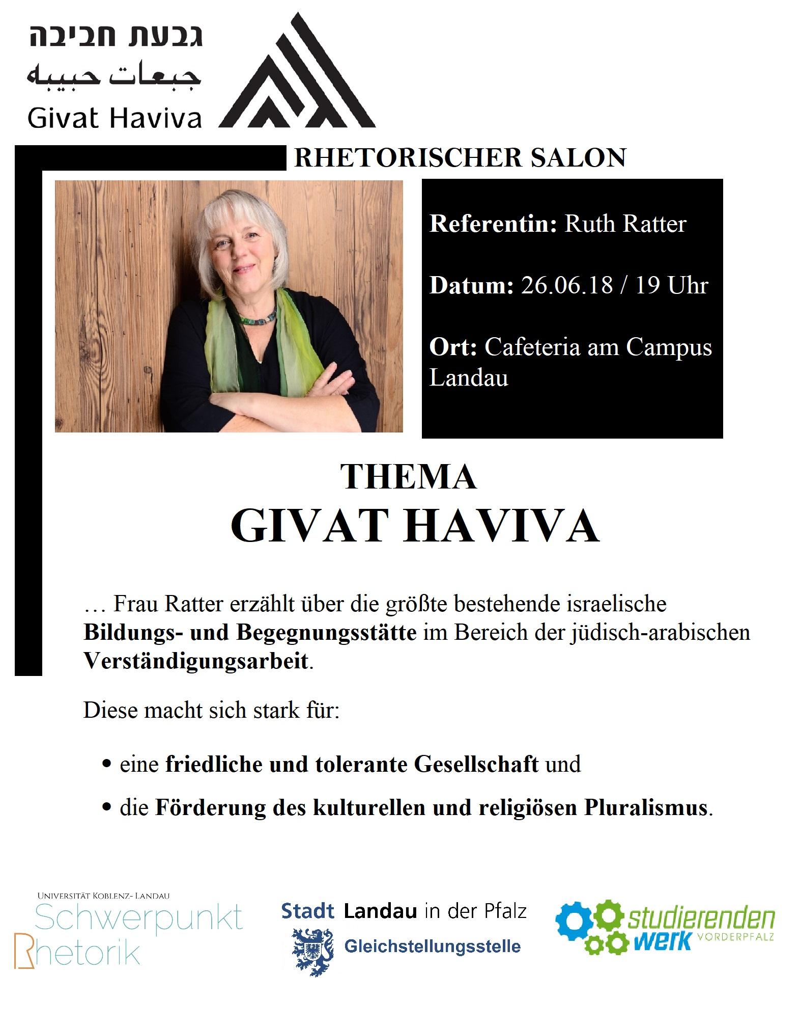 Plakat Rhetorischer Salon